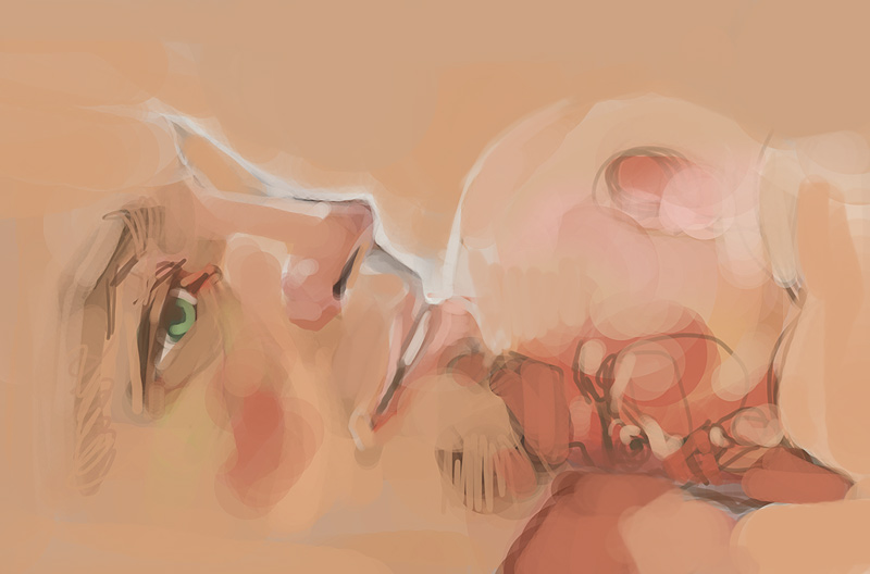 szkice speed painting Szkodziński Tomasz