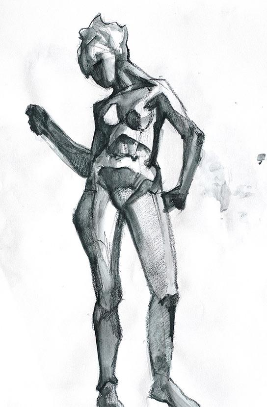 Tomasz Szkodzinski rysunek