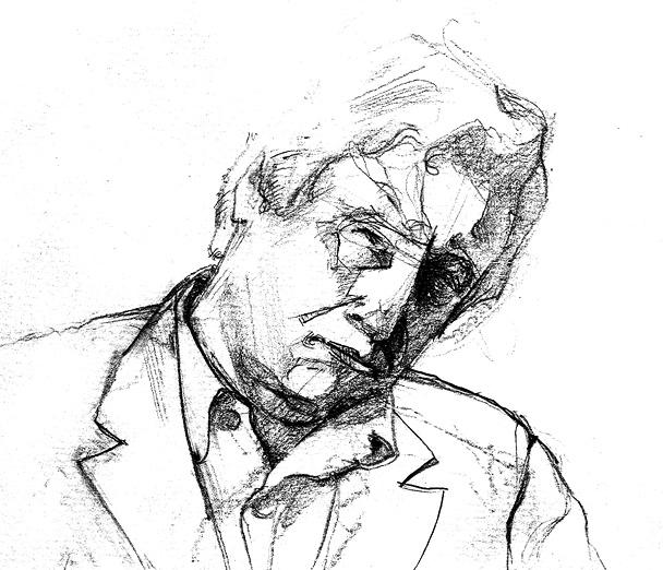 Tomek Szkodzinski drawing rysunek