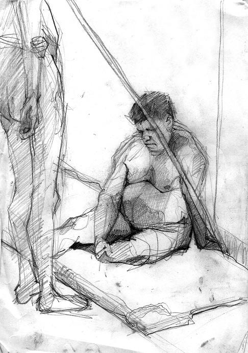 Tomasz Szkodzinski rysunek sketch