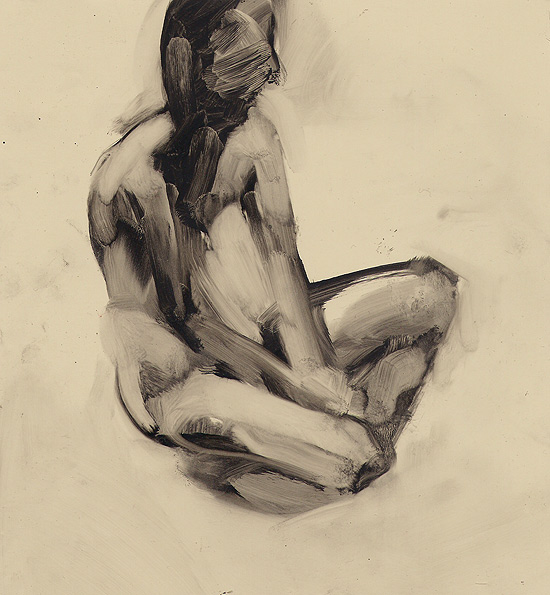 Tomek Szkodzinski drawing rysunek oil