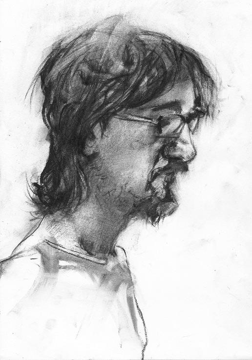 Tomasz Szkodziński drawing rysunek sketch szkic life studies