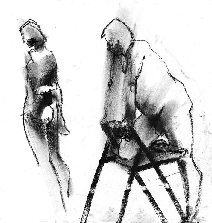 Tomasz Szkodzinski drawing rysunek life studies