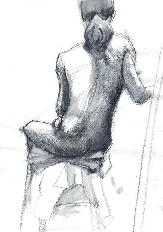 Tomek Szkodzinski szrafunek ołówkiem drawing rysunek sketch szkic