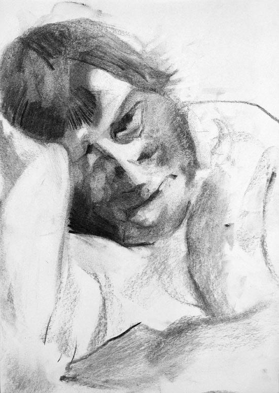 Tomek Szkodzinski drawing rysunek sketch szkic life studies